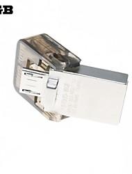 4GB 2 in 1 Mini-USB-Flash-Laufwerk Speicher Handy-Reader