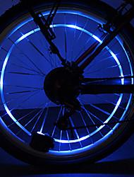 YELVQI PC Azul Bobina Lamp Ciclismo Hot Roda