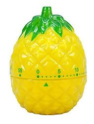 """Ananas-Shaped mechanische Küche Timer, Kunststoff 2.8 """"X2"""" X2.8 """""""