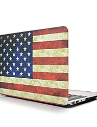 New American Flag Pattern Body Protact Case for 13.3 Macbook Air