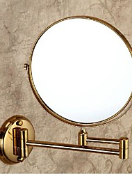 Gold Painting Brass Material Mirrors