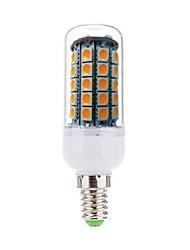 7W E14 Bombillas LED de Mazorca T 59 SMD 5050 700 lm Blanco Cálido Decorativa AC 100-240 V