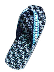 Quiksilver Men's Beach Sports Blue Massage Flip Flops