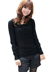 Women's Casual Shirts , Cotton/Cotton Blend Casual
