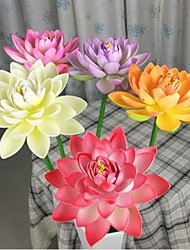 27 cm Diameter Simulation Open Lotus Flower with Stem