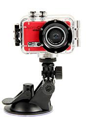 Full-HD-1080P-Sport-Kamera für Sport-Schießen mit Wifi-Funktion (Schwarz, Weiß, Gelb, Rot, Pink)