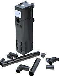 Dogs Ultra-quiet 3-IN-1 Internal Filter Air Pump Polyethylene Filtration Equipment(3W, 200L/H)