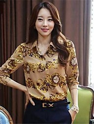 Women's Office Work Wear Chiffon Blouse