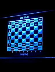 Chess Universal Novelty Board Advertising LED Light Sign