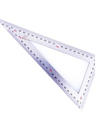 Persa BS181140S 12x25cm Duplo Metric Escala de aço inoxidável triângulo régua