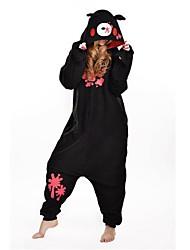 novo cosplay urso sombrio preto polar adulto kigurumi pijama