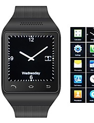 zgpax ® s18 téléphone bluetooth 3.0 montre bracelet (message, mp3, fm)