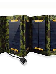 7w USB-Ausgang faltbare Solar Ladegerät für iphone6 / 6plus / 5s samsung S4 / 5 htc und andere mobile Geräte