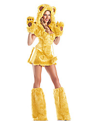 Sexy Furry Monster Bear Women's Halloween Costume