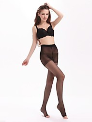 Mujeres Nuevo Estilo 15 Denier Opacidad punta abierta Ultra Thin Panti