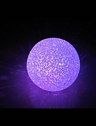 Coway sfera di cristallo variopinta LED Night Light
