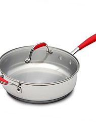 BODEUX® Beauty And Safety Sauté Pans 24cm 304 Stainless Steel 49.3cm*25.4cm*7.5cm