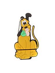 ZP cartone animato cane avido carattere usb flash drive 8gb