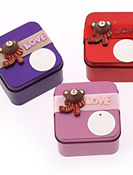 6 Piece/Set Favor Holder - Creative Iron(nickel plated) Favor Boxes/Favor Tins and Pails Non-personalised