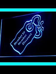 Promover Membro Publicidade LED Sign