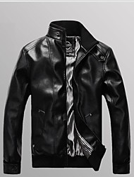 Taichang ™ Мужская стоячим воротником куртки
