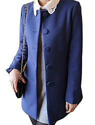 Women's Coats & Jackets , Others/Wool Casual BZQ