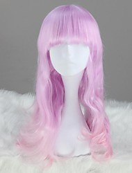 Lolita Wigs Sweet Lolita Princess Long Pink Lolita Wig 60 CM Cosplay Wigs Solid Wig For Women