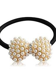 eleganten Perlenstirnbänder glückliche Puppe Frauen