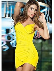 vestido de la correa del bodycon atractivo del club de la muchacha de las mujeres