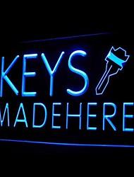 Keys Made Here Advertising LED Light Sign