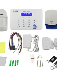 Touch Screen Dual-Network GSM Alarm System for iOS / Android