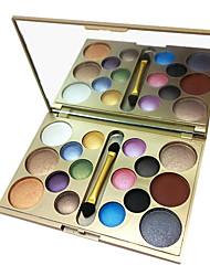 16 Lidschattenpalette Lidschatten-Palette Puder Normal Alltag Make-up / Smokey Makeup