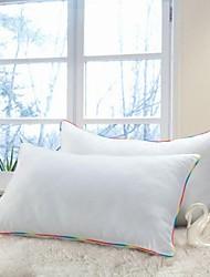 shuian® couette 100% coton rectangulaire de ventilation saine compressionpillow
