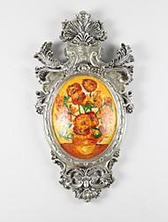 iarts®hand-pintadas famosas pinturas a óleo reprodução girassol de Van Gogh com decoração de parede quadro resina