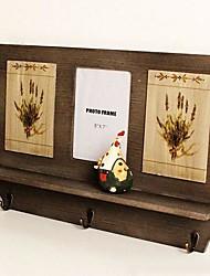 Wooden Design Of Coloured Drawing Design Of Lavender Commodity Shelf