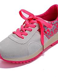 piattaforma di comfort del tallone delle scarpe da tennis di modo scarpe da donna in pelle scamosciata (più colori)