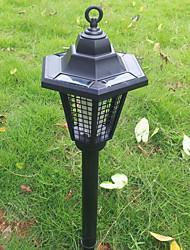 Acier inoxydable LED solaire tueur de moustique lumières lumière pelouse jardin
