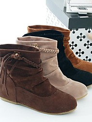 Women's Wedge Heel  Fashion Boots  Ankle Boots (More Colors)