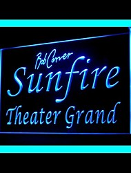 Sunfire Theater Advertising LED Light Sign