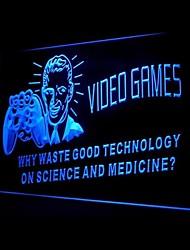 Medicina Ciência Videojogos Publicidade LED Sign