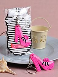 Plástico Favors Chaveiros Piece / Set Chaveiros Não-Personalizado Rosa