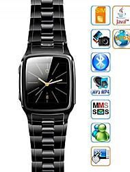Fashion GB810 1.54Inch Smart Watch Cell Phone (JAVA, MP3, MP4, Bluetooth) Multi-function Watch