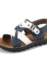 crianças ursinho ® 2014 verão novo padrão de couro genuíno sandálias
