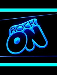 Rock Band Music Advertising LED Sign