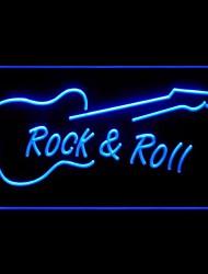 Rock Roll Werbung LED-Licht Anmelden
