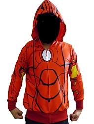 super-hommes de fer de héros à capuche rouge costume film cosplay