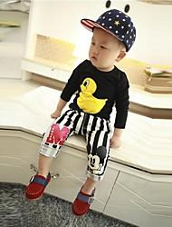 Moda Casual Joker Big Yellow Duck Camiseta del muchacho