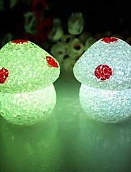 Coway Crystal Mushrooms Colorful LED Night Light