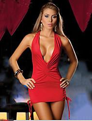 aifei styles de club sexy col en V dos nu halter chemise de nuit
