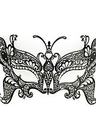 Schmetterlings-Königin-Art Black Metal Halloween Masquerade Mask
